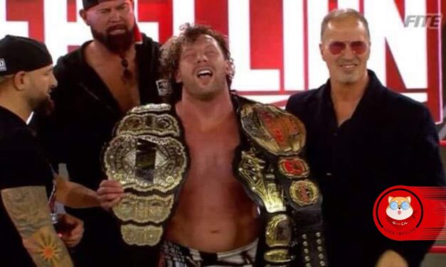 Kenny Omega of AEW takes home the Impact World Championship at Impact Rebellion 2021