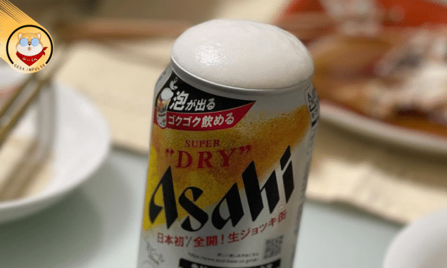 Asahi Super Dry Self-Foaming Beer Explodes Off the Shelves Causing a Demand Greater Than the Supply 2120
