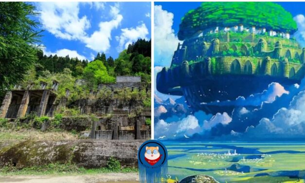 """Colossal Tsuchikura Mine 'Awe Inspiring Ruins' Resembling """"Castle in the Sky"""" Seduces Cosplayers and Tourists 21"""