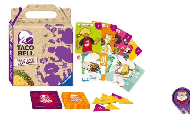 Taco Box Style Taco Bell Party Pack Card Game Makes You Hungry and Delivers a Fun Time 1