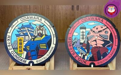 Japanese Manhole Covers to be Installed by Bandai Namco with Awesome Gundam Designs 21st